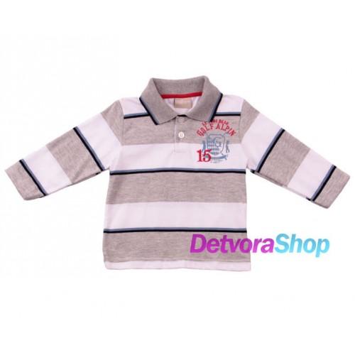 Рубашка-поло Milon 2401 с вышивкой