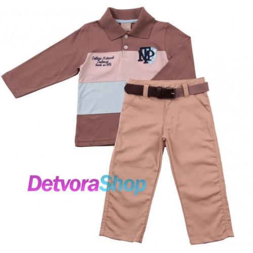Комплект одежды Milon 2417-8430 брюки и поло