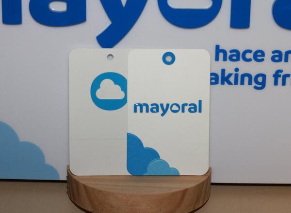 Современные этикетки Mayoral