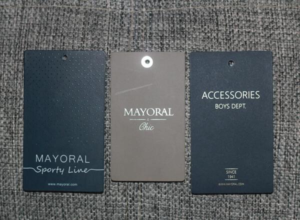 Этикетки Mayoral Sporty Line и Майорал Chic