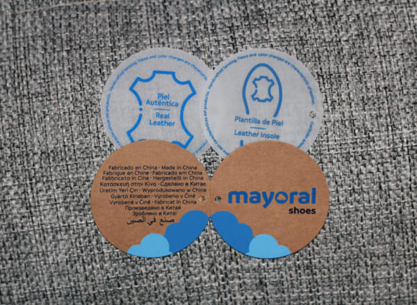 Обувные этикетки Mayoral